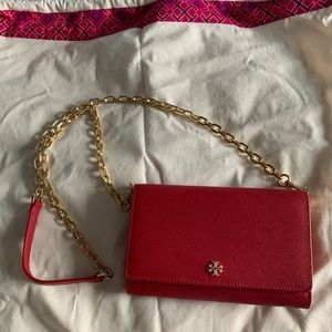 Tory burch chain link cross body